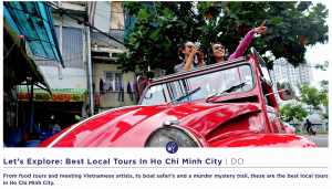 Saigon 2 CV Tour